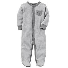 Baby Boy Carter's Terry Pocket Sleep & Play