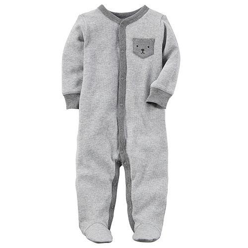 Baby Boy Carter's Terry Pocket Sleep & Play