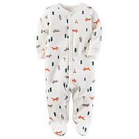 Baby Boy Carter's Fox & Trees Sleep & Play