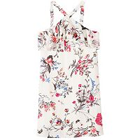 Girls 7-16 Speechless Floral Halter Dress