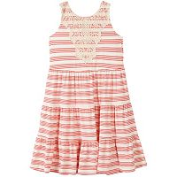 Girls 7-16 Speechless Striped Tiered Dress