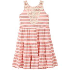 Girls 7-16 Speechless Striped Tiered Dress