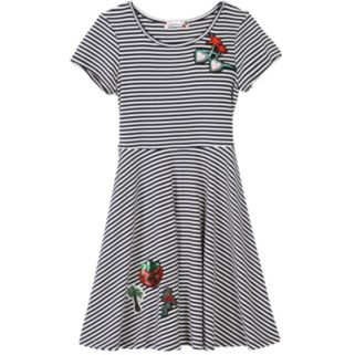 Girls 7-16 Speechless Striped Skater Dress