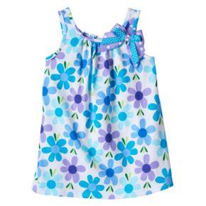 Baby Girl Sophie Rose Floral Bow Dress