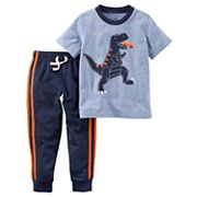 Baby Boy Carter's 2 pc Dinosaur Tee & Jogger Pants Set