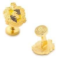 Harry Potter Hufflepuff Crest Cuff Links
