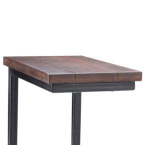Simpli Home Skyler Industrial Side Table
