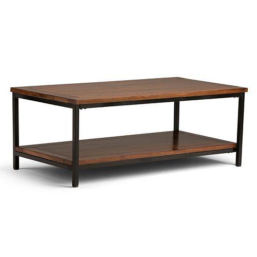 Simpli Home Skyler Industrial Coffee Table