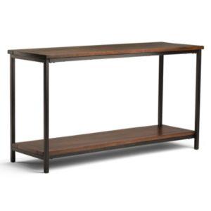 Simpli Home Skyler Industrial Console Table