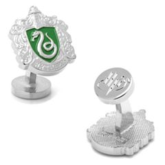 Harry Potter Slytherin Crest Cuff Links