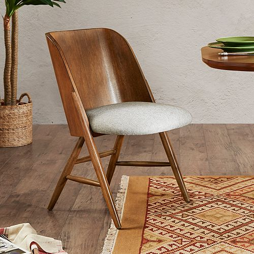 INK+IVY Curtis Upholstered Wood Dining Chair