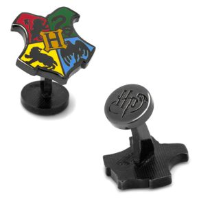 Harry Potter Hogwarts Shield Cuff Links