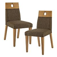 INK+IVY Metro Mid-Century Dining Chair 2 pc Set