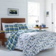 Poppy & Fritz Royce Reversible Quilt Set