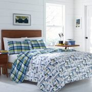 Poppy & Fritz Royce Reversible Quilt Set