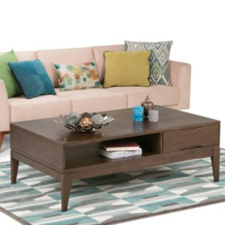 Simpli Home Harper Storage Coffee Table
