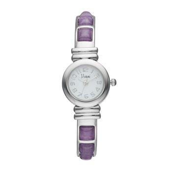Vivani Women's Ametrine Stainless Steel Cuff Watch
