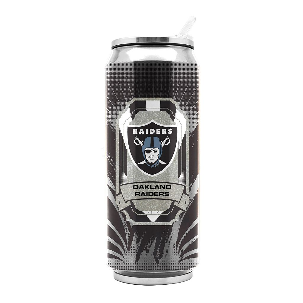 Oakland Raiders Thermos Can Tumbler