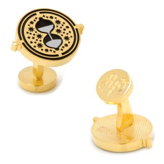 Harry Potter Time Turner Gold-Tone Cuff Links