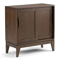 Simpli Home Harper 2-Door Storage Cabinet
