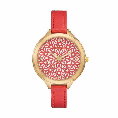 Laura Ashley Women's Floral Watch