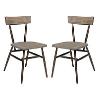 INK+IVY Cafe Dining Chair 2 pc Set
