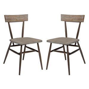 INK+IVY Cafe Dining Chair 2-piece Set