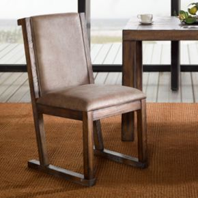 INK+IVY Easton Faux-Leather Dining Chair 2-piece Set