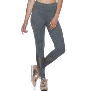 Juniors' SO® Mesh Inset Yoga Leggings