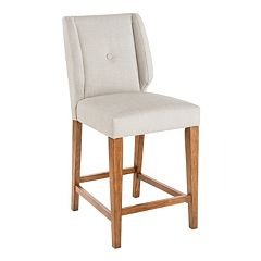 INK+IVY Portland Wingback Counter Stool