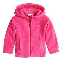 Toddler Girl Columbia Three Lakes Fleece Hoodie Jacket