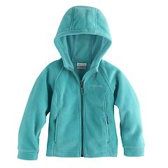 Toddler Girl Columbia Three Lakes Fleece Hoodie Jacket