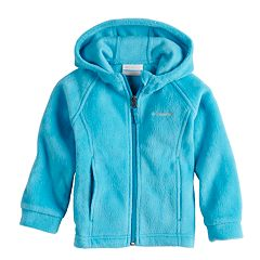 Baby Girl Columbia Three Lakes Fleece Hoodie Jacket