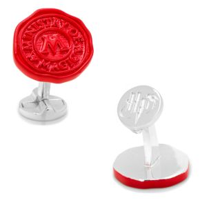 Harry Potter Ministry of Magic Wax Stamp Cuff Links