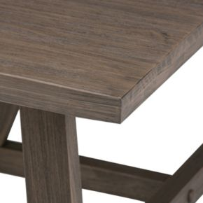 Simpli Home Dylan Square Coffee Table