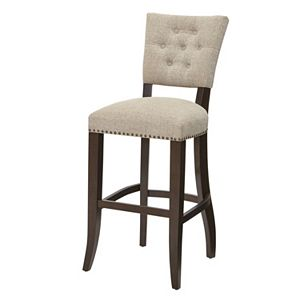 INK+IVY Brooklyn Upholstered Bar Stool