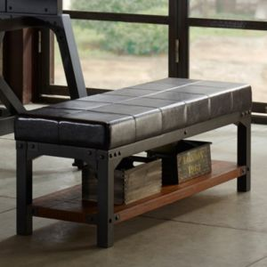 INK+IVY Lancaster Industrial Bench