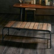 INK+IVY Renu Wood Bench