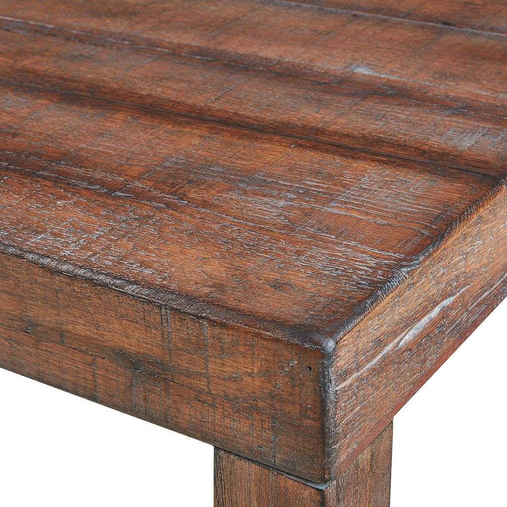 INK+IVY Easton Wood Dining Bench