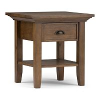 Simpli Home Redmond 1-Drawer End Table
