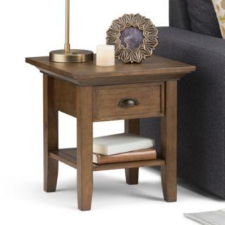 Simpli Home Redmond 1-Drawer End Table