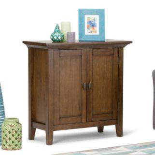 Simpli Home Redmond 2-Door Storage Cabinet