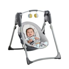 Graco Slim Spaces Compact Baby Swing