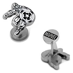 Marvel Comics Captain America Ink Action Cuff Links