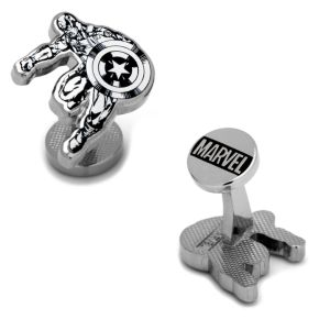 Marvel Captain America Ink Action Cuff Links