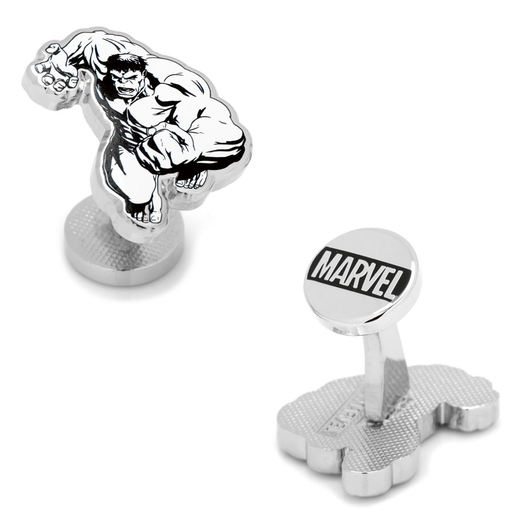Marvel Comics The Incredible Hulk Ink Action Cuff Links