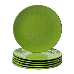 Certified International 6 pc Salad Plate Set