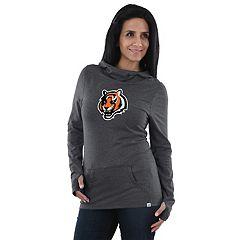 Women's Majestic Cincinnati Bengals Great Play Hoodie