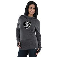 Women's Majestic Oakland Raiders Great Play Hoodie