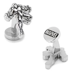 Marvel Comics Iron Man Ink Action Cuff Links